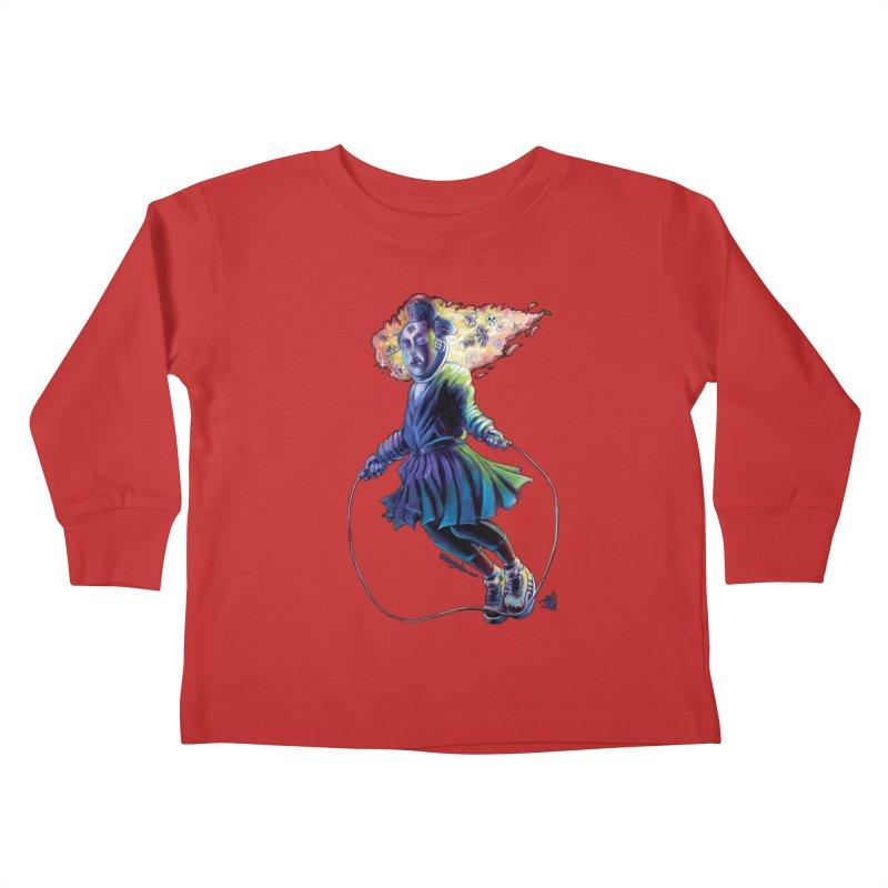 Process #3 Kids Toddler Longsleeve T-Shirt by All City Emporium's Artist Shop