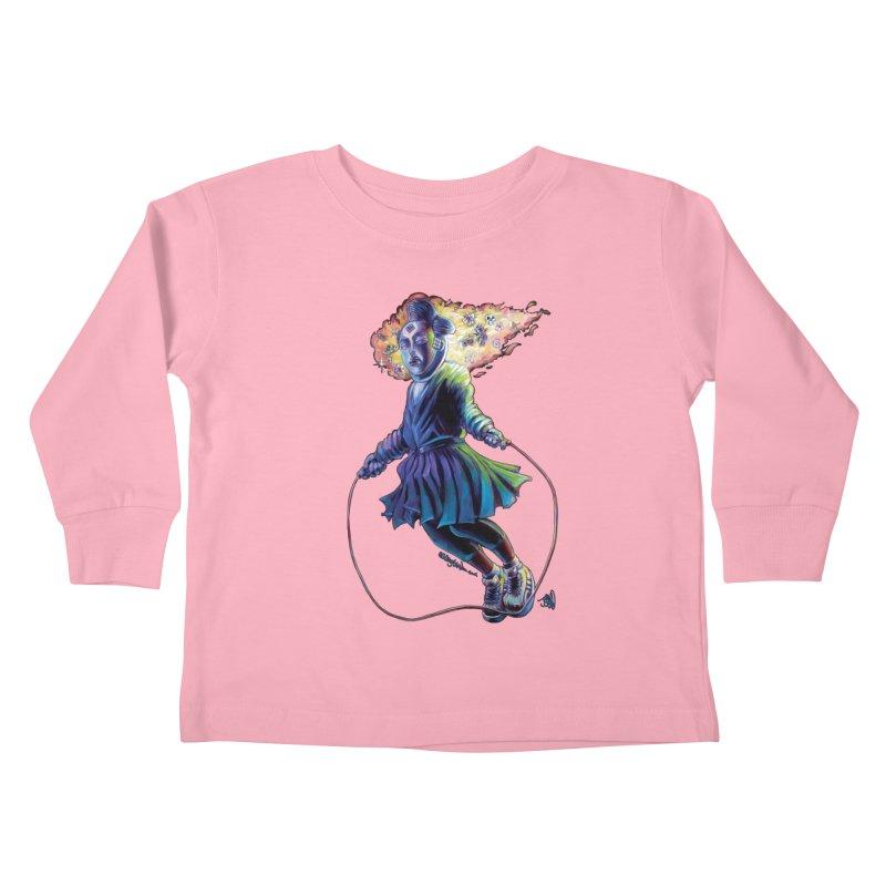 Process #3 Kids Toddler Longsleeve T-Shirt by allcityemporium's Artist Shop