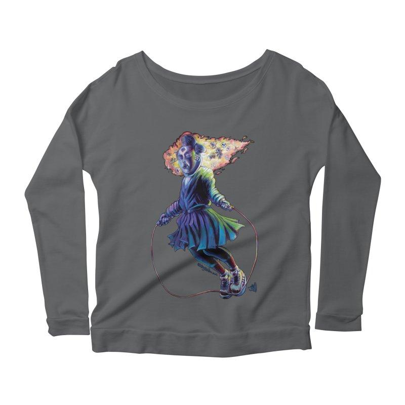 Process #3 Women's Scoop Neck Longsleeve T-Shirt by All City Emporium's Artist Shop