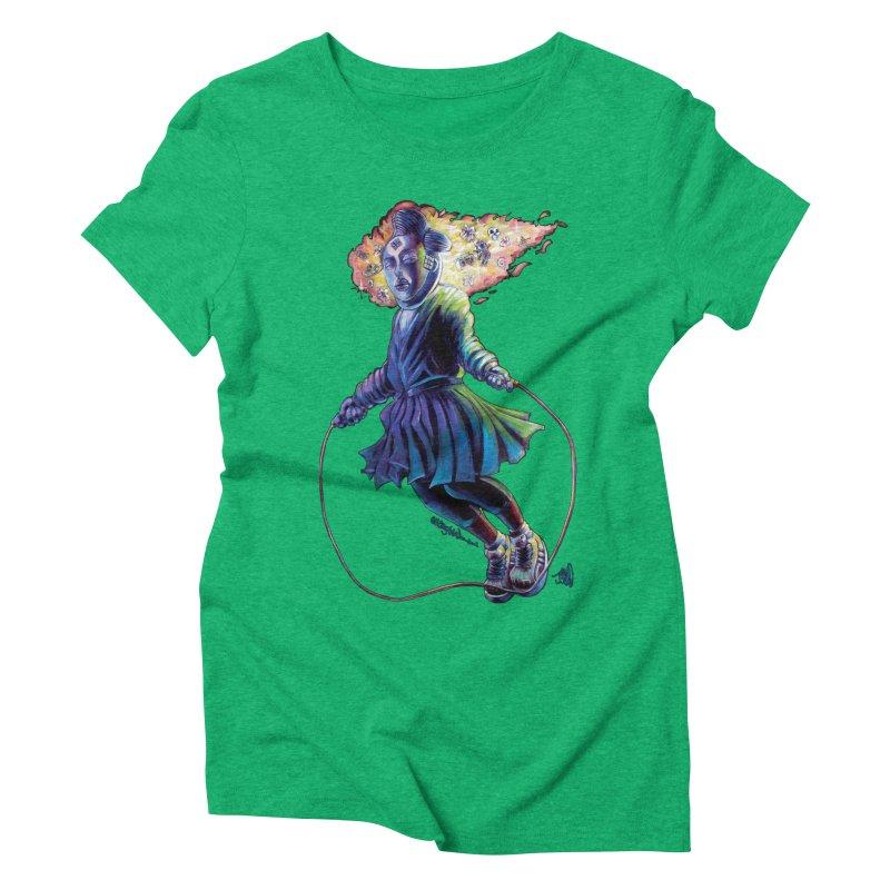 Process #3 Women's Triblend T-Shirt by All City Emporium's Artist Shop