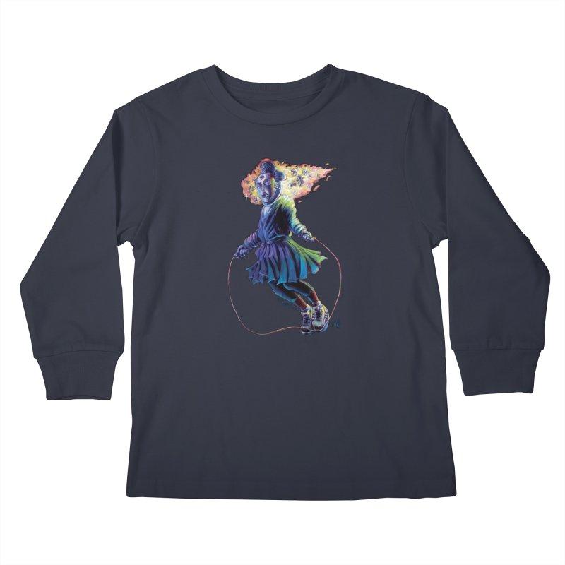 Process #3 Kids Longsleeve T-Shirt by All City Emporium's Artist Shop