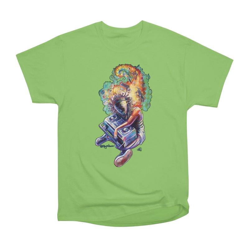 Process # 4 Men's Heavyweight T-Shirt by All City Emporium's Artist Shop