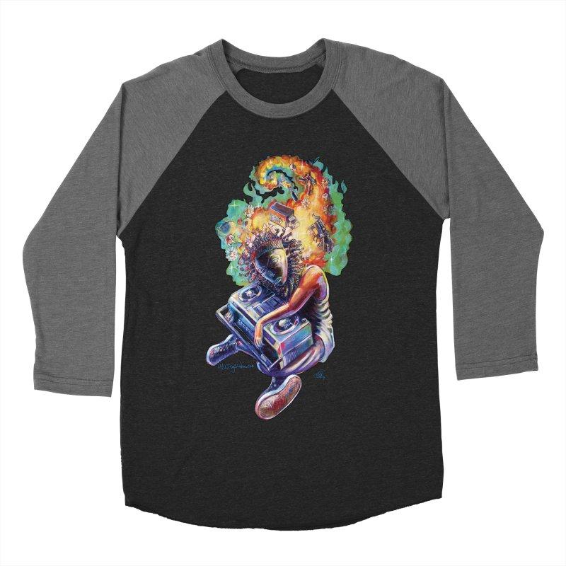 Process # 4 Women's Baseball Triblend Longsleeve T-Shirt by allcityemporium's Artist Shop