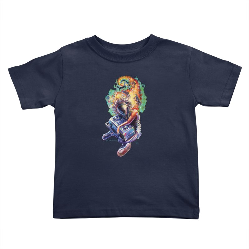 Process # 4 Kids Toddler T-Shirt by All City Emporium's Artist Shop