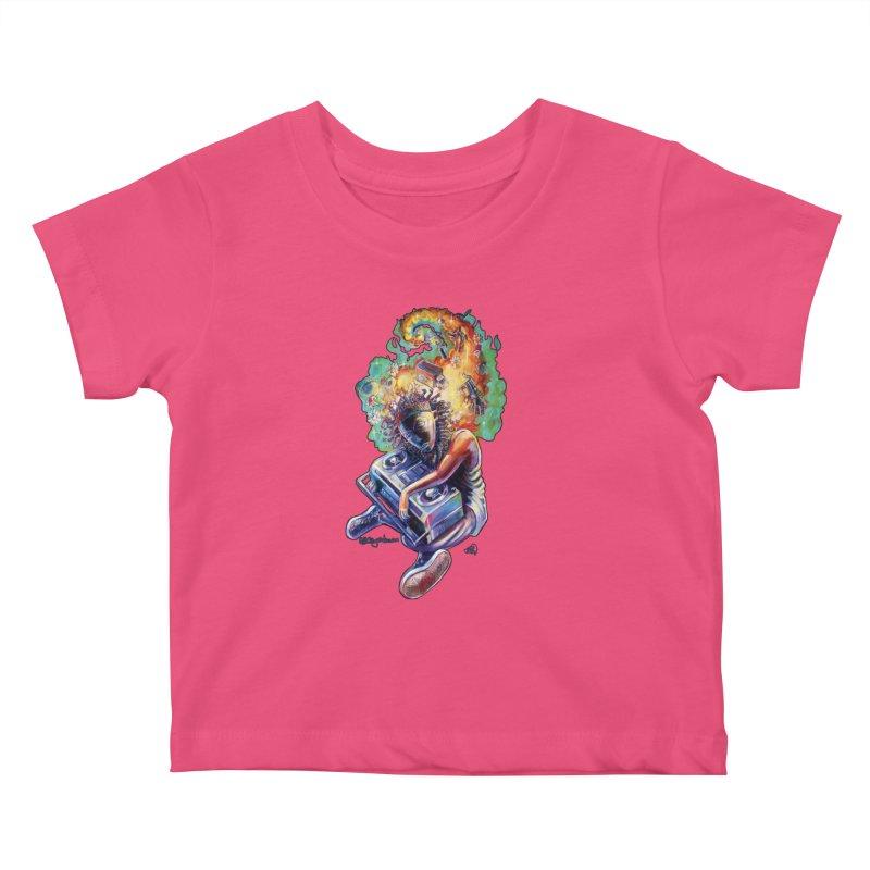 Process # 4 Kids Baby T-Shirt by All City Emporium's Artist Shop