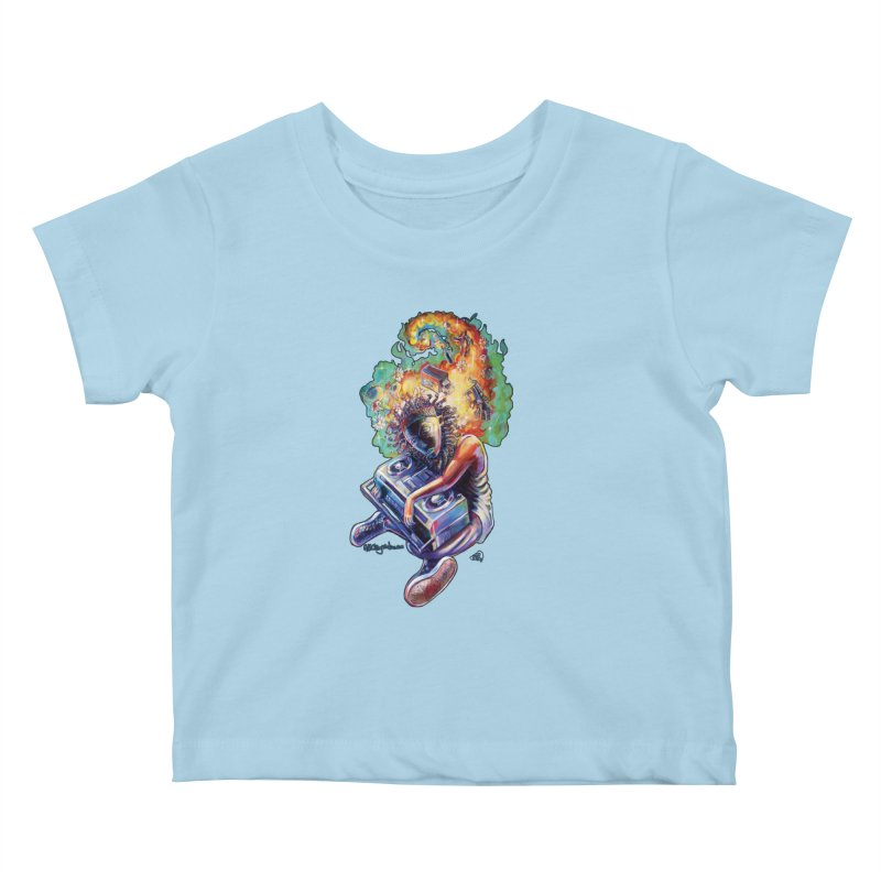Process # 4 Kids Baby T-Shirt by All City Emporium's Artist Shop