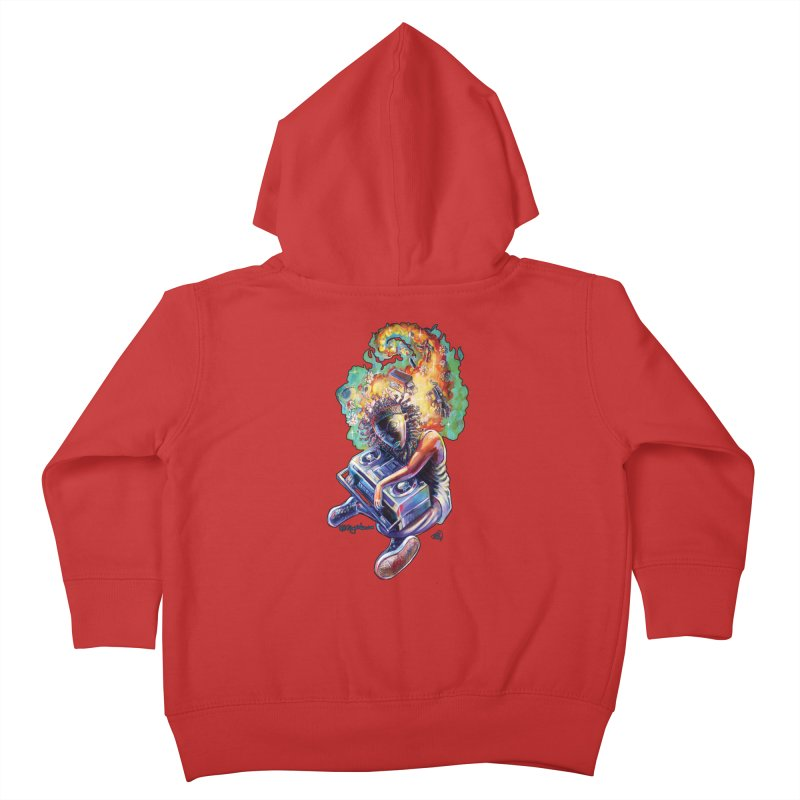 Process # 4 Kids Toddler Zip-Up Hoody by All City Emporium's Artist Shop
