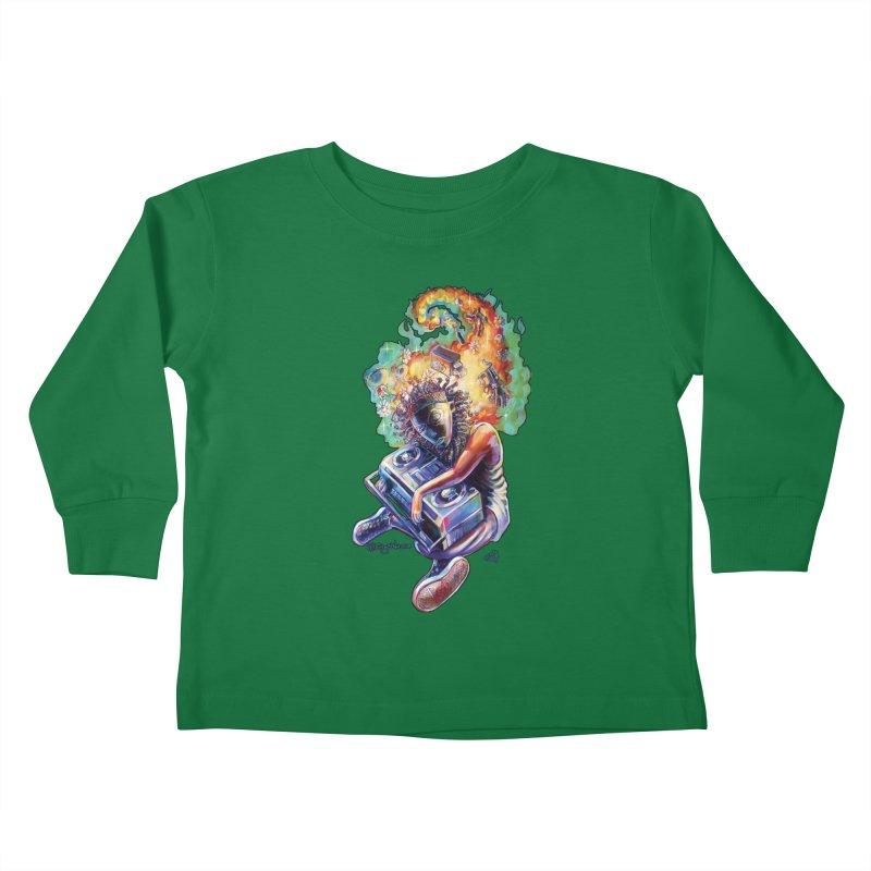 Process # 4 Kids Toddler Longsleeve T-Shirt by allcityemporium's Artist Shop