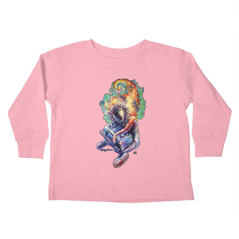 Process # 4 Kids Toddler Longsleeve T-Shirt by All City Emporium's Artist Shop