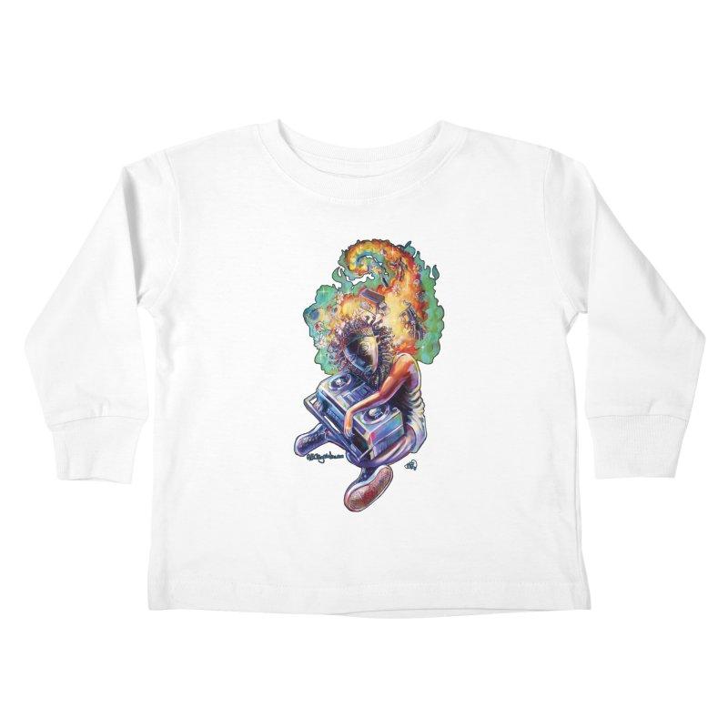 Process # 4 Kids Toddler Longsleeve T-Shirt by All City Emporium's Artist Shop
