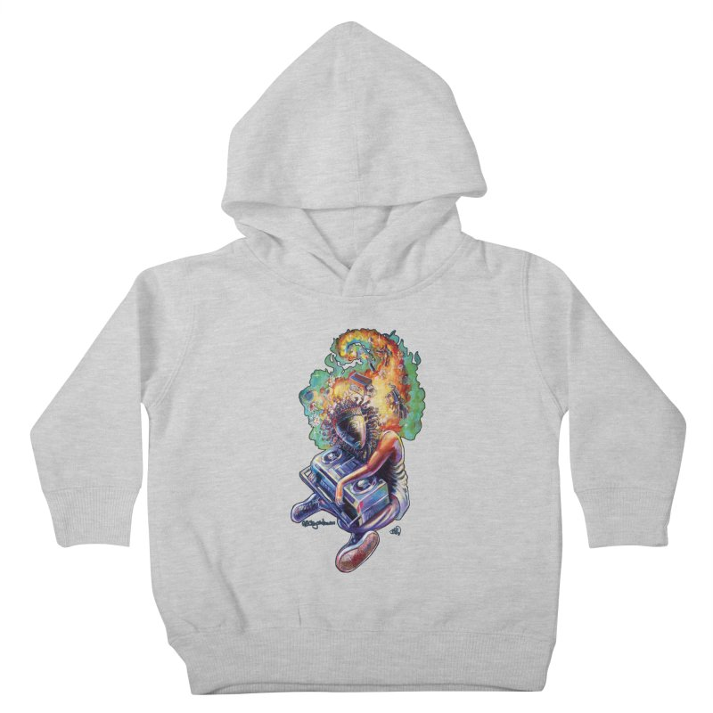 Process # 4 Kids Toddler Pullover Hoody by All City Emporium's Artist Shop