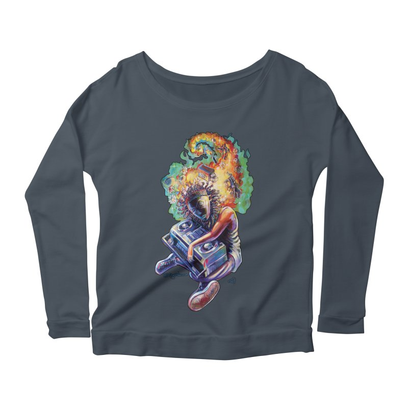 Process # 4 Women's Scoop Neck Longsleeve T-Shirt by allcityemporium's Artist Shop