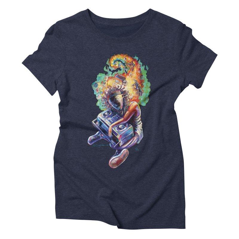 Process # 4 Women's Triblend T-Shirt by All City Emporium's Artist Shop