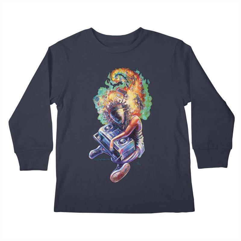 Process # 4 Kids Longsleeve T-Shirt by All City Emporium's Artist Shop