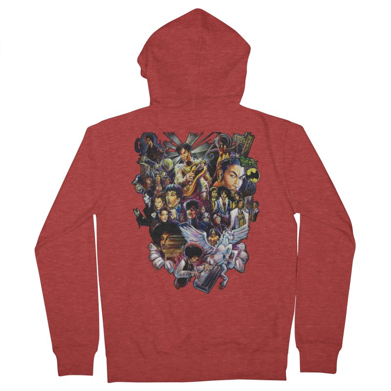 Mr.Nelson Women's French Terry Zip-Up Hoody by All City Emporium's Artist Shop