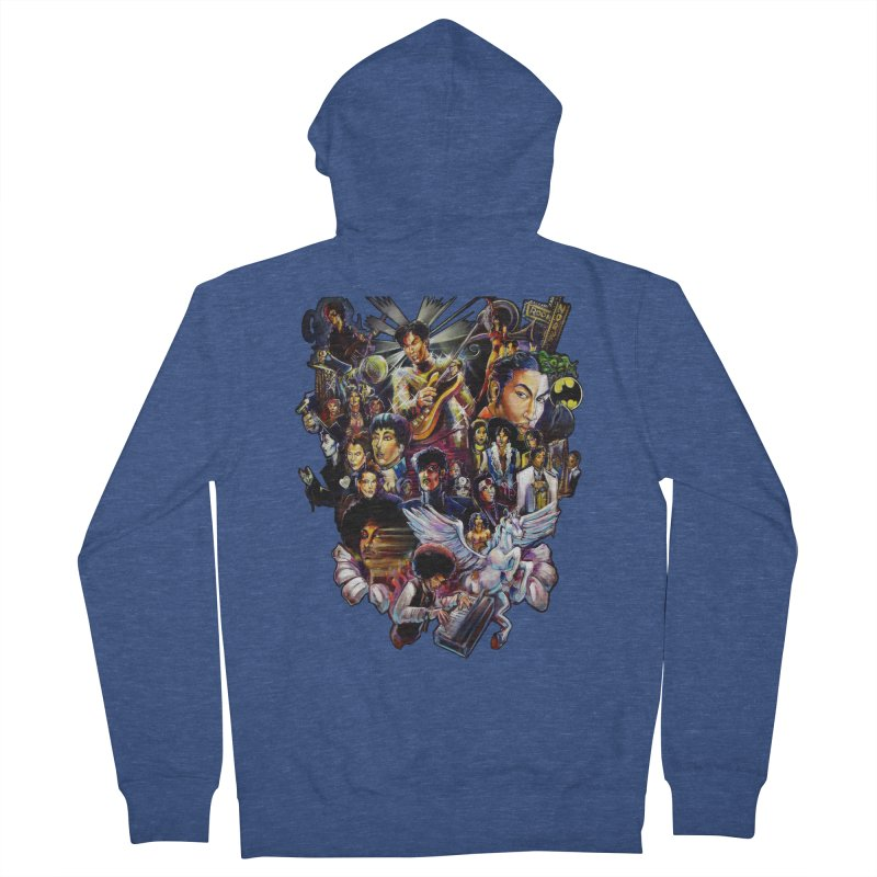 Mr.Nelson Men's French Terry Zip-Up Hoody by All City Emporium's Artist Shop