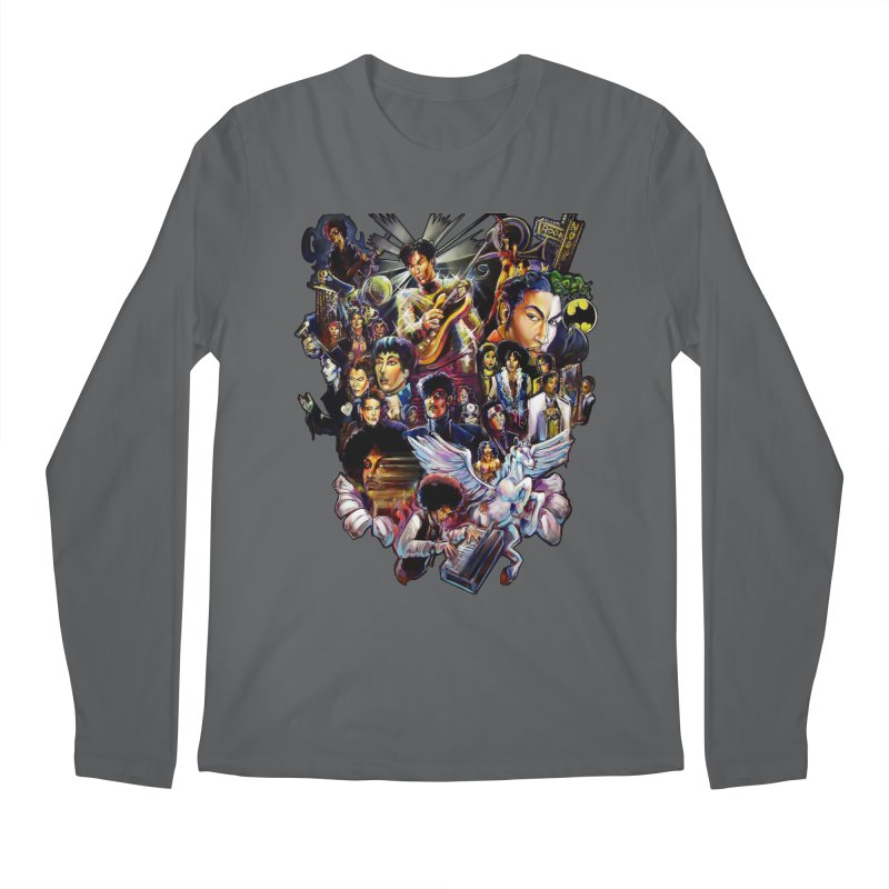 Mr.Nelson Men's Regular Longsleeve T-Shirt by All City Emporium's Artist Shop