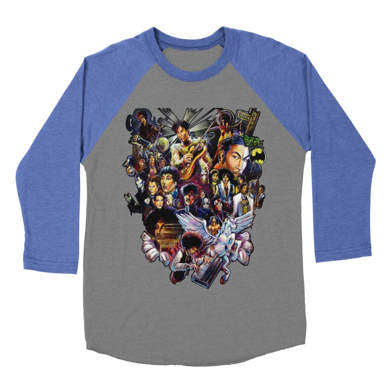 Mr.Nelson Men's Baseball Triblend Longsleeve T-Shirt by All City Emporium's Artist Shop