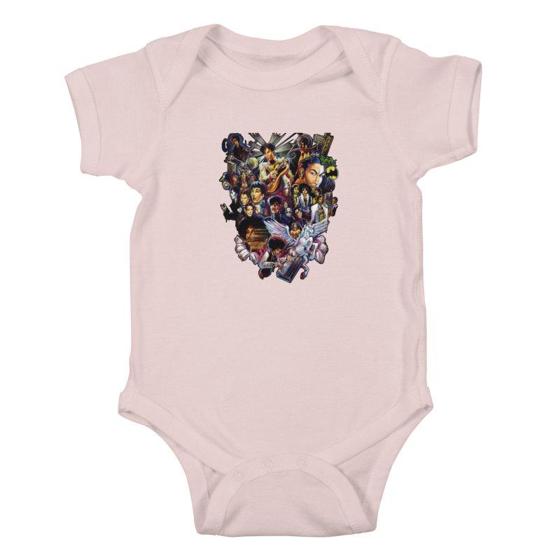 Mr.Nelson Kids Baby Bodysuit by allcityemporium's Artist Shop
