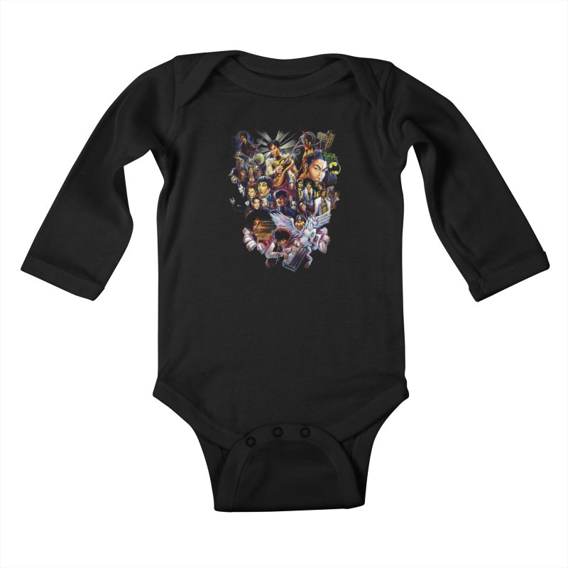 Mr.Nelson Kids Baby Longsleeve Bodysuit by All City Emporium's Artist Shop