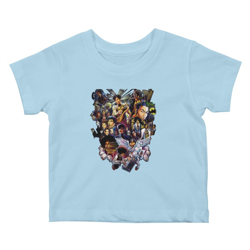 Mr.Nelson Kids Baby T-Shirt by All City Emporium's Artist Shop