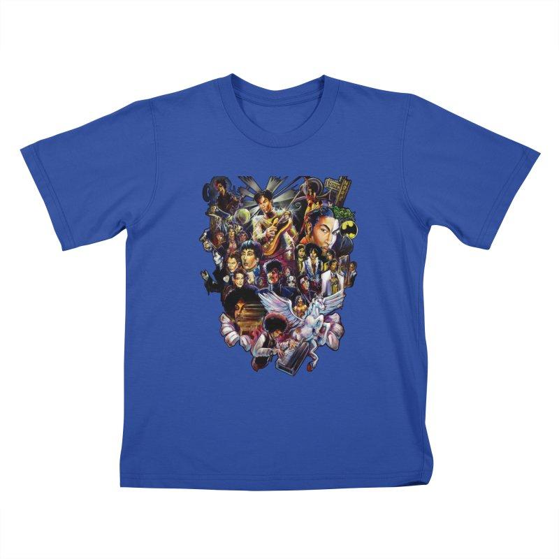 Mr.Nelson Kids T-Shirt by All City Emporium's Artist Shop