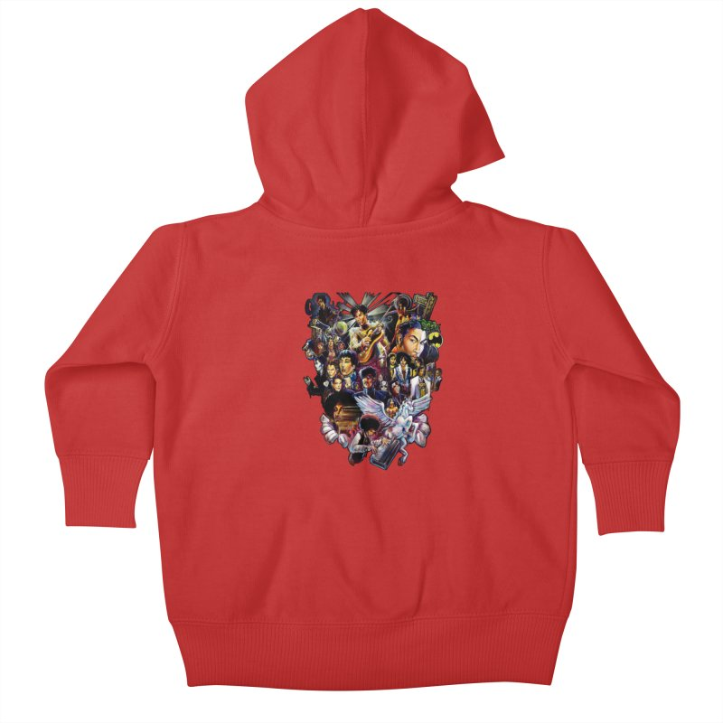 Mr.Nelson Kids Baby Zip-Up Hoody by allcityemporium's Artist Shop
