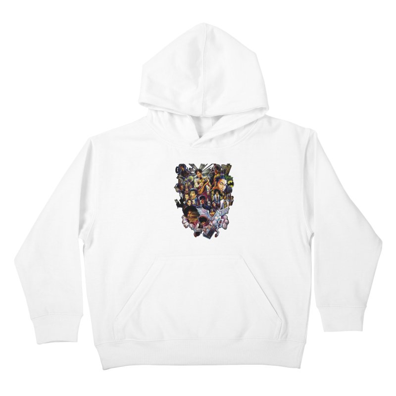 Mr.Nelson Kids Pullover Hoody by All City Emporium's Artist Shop
