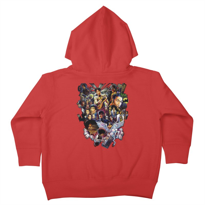 Mr.Nelson Kids Toddler Zip-Up Hoody by All City Emporium's Artist Shop
