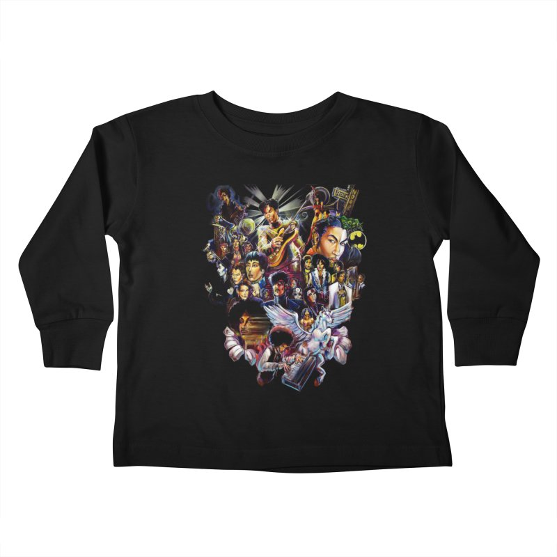 Mr.Nelson Kids Toddler Longsleeve T-Shirt by All City Emporium's Artist Shop