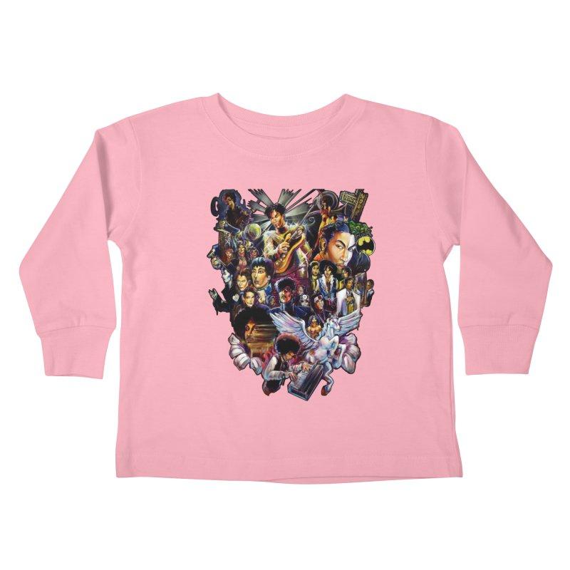 Mr.Nelson Kids Toddler Longsleeve T-Shirt by All City Emporium's Artist Shop