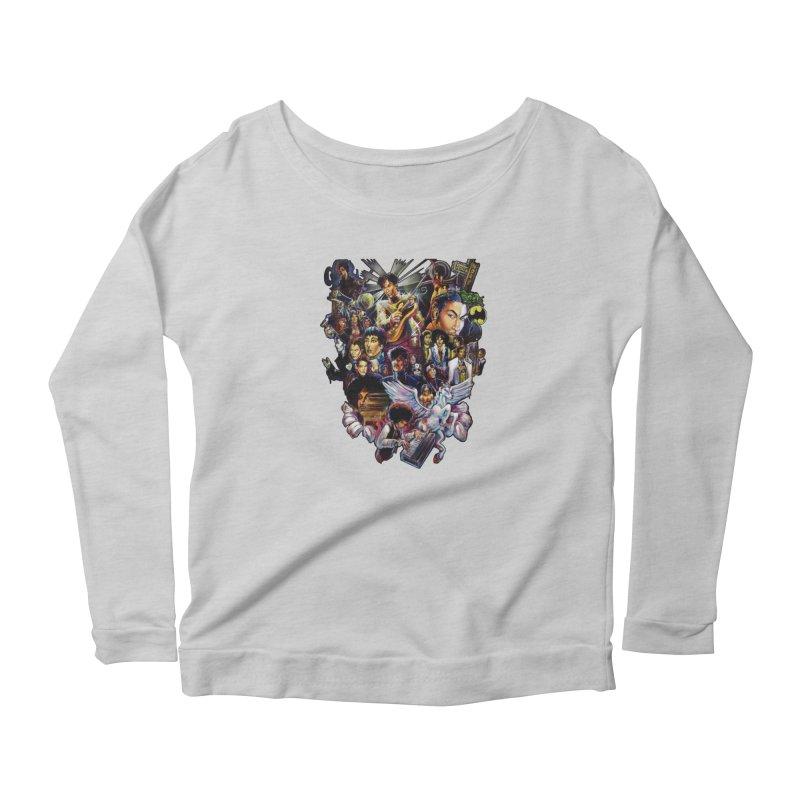 Mr.Nelson Women's Scoop Neck Longsleeve T-Shirt by allcityemporium's Artist Shop