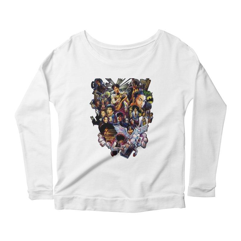 Mr.Nelson Women's Scoop Neck Longsleeve T-Shirt by All City Emporium's Artist Shop
