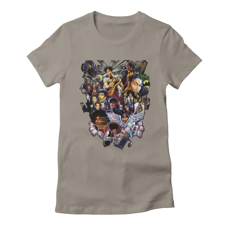 Mr.Nelson Women's Fitted T-Shirt by All City Emporium's Artist Shop