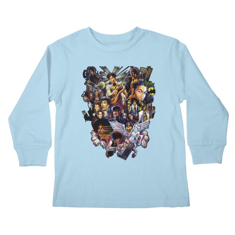 Mr.Nelson Kids Longsleeve T-Shirt by All City Emporium's Artist Shop