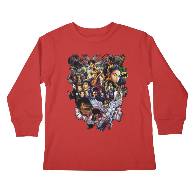 Mr.Nelson Kids Longsleeve T-Shirt by All City Emporium's Artist Shop