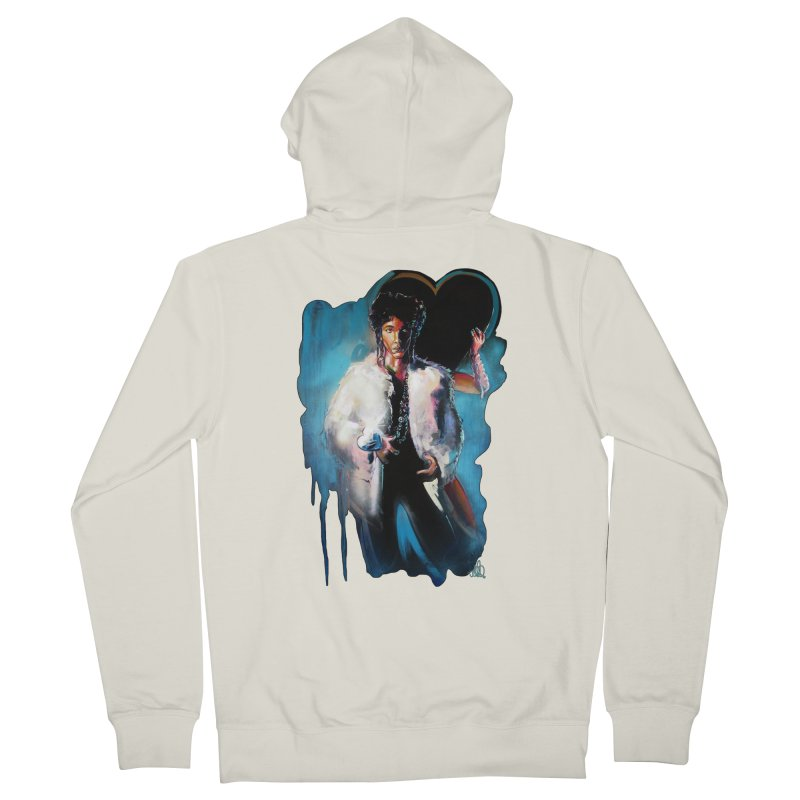 Camille Women's French Terry Zip-Up Hoody by All City Emporium's Artist Shop