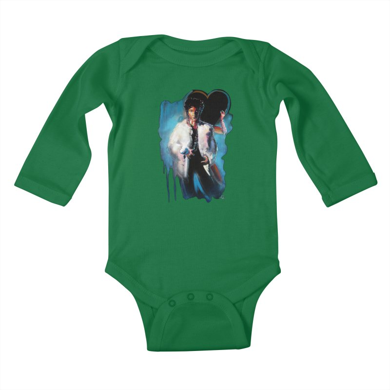 Camille Kids Baby Longsleeve Bodysuit by All City Emporium's Artist Shop