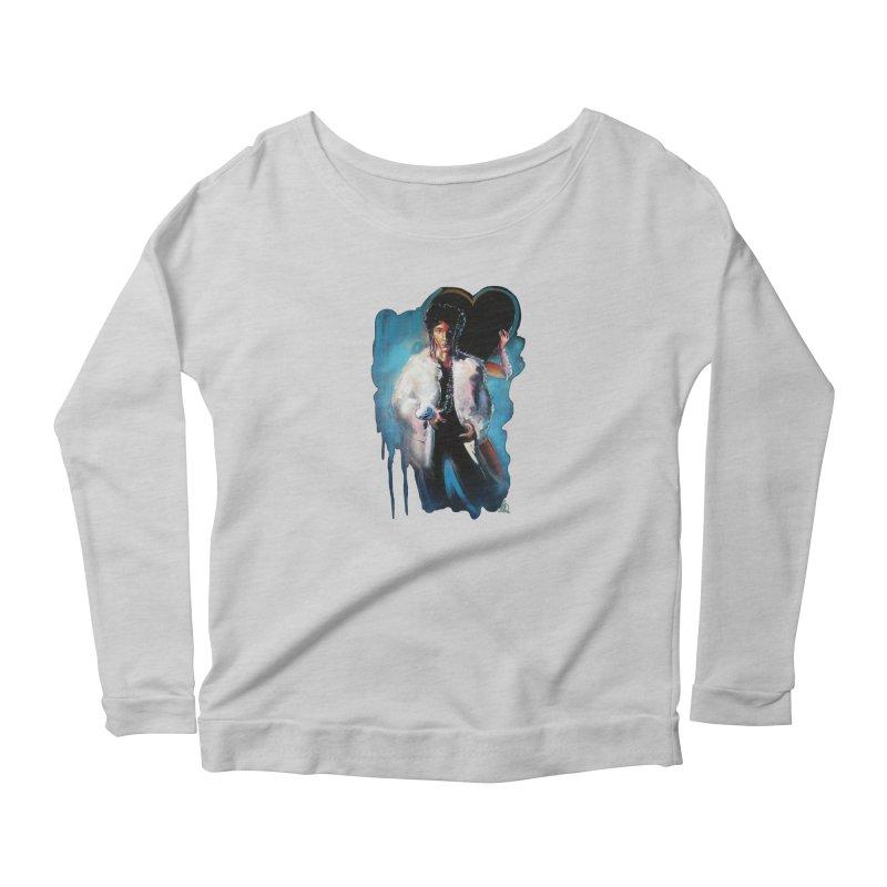 Camille Women's Scoop Neck Longsleeve T-Shirt by All City Emporium's Artist Shop