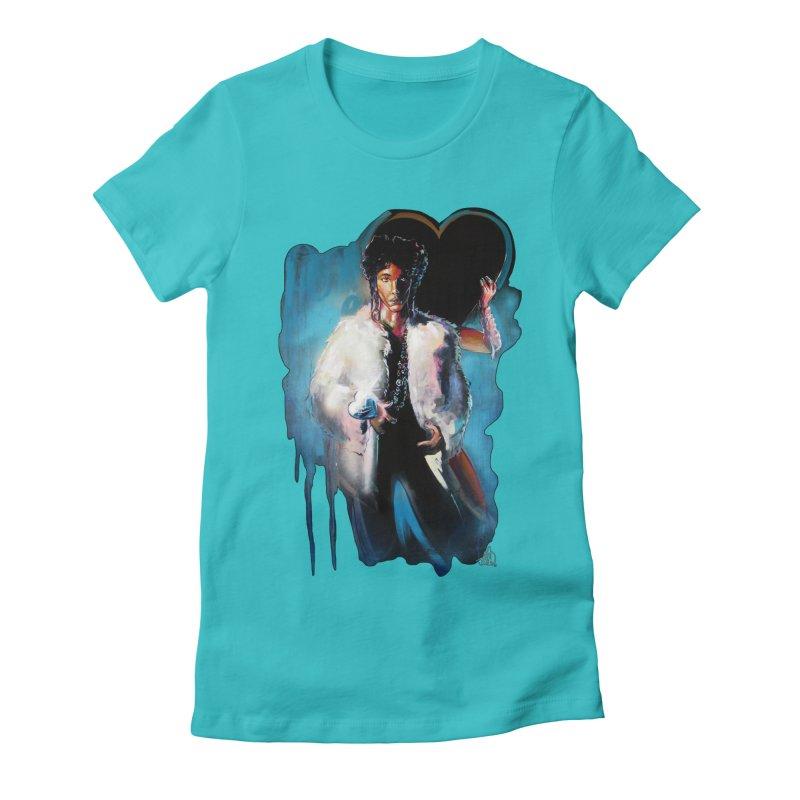 Camille Women's Fitted T-Shirt by allcityemporium's Artist Shop