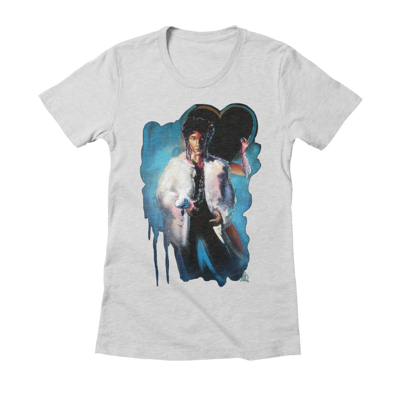 Camille Women's Fitted T-Shirt by All City Emporium's Artist Shop