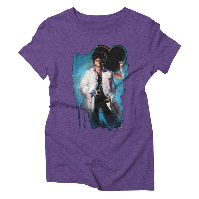 Camille Women's Triblend T-Shirt by All City Emporium's Artist Shop