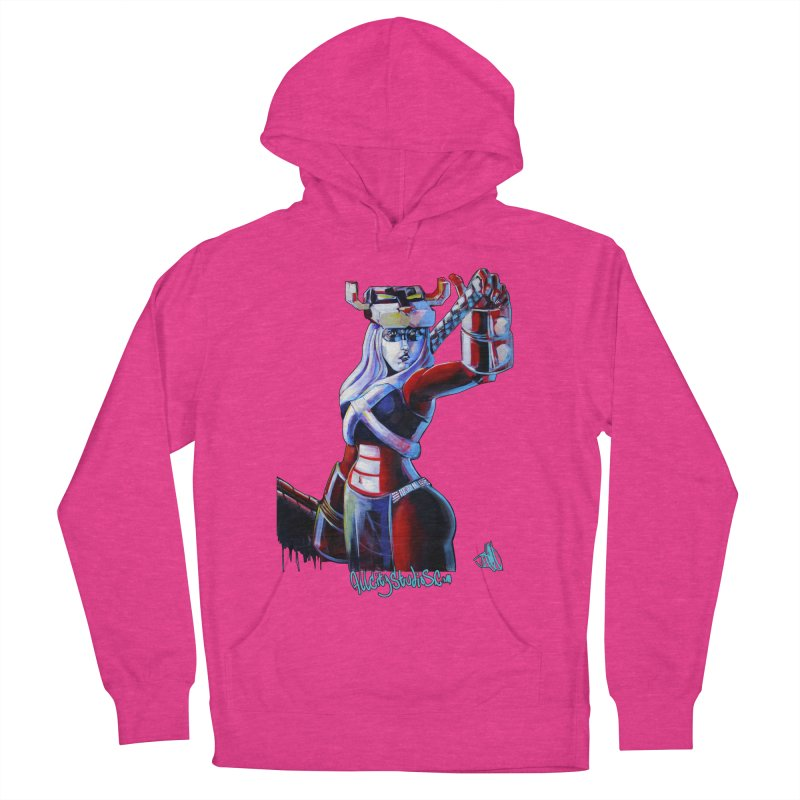Marauder 1 Women's French Terry Pullover Hoody by All City Emporium's Artist Shop