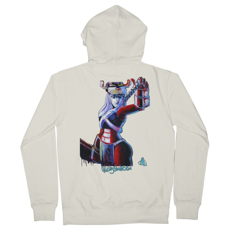 Marauder 1 Women's French Terry Zip-Up Hoody by All City Emporium's Artist Shop
