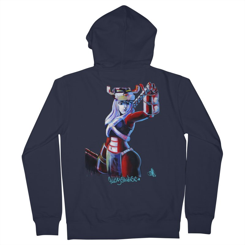 Marauder 1 Men's French Terry Zip-Up Hoody by All City Emporium's Artist Shop