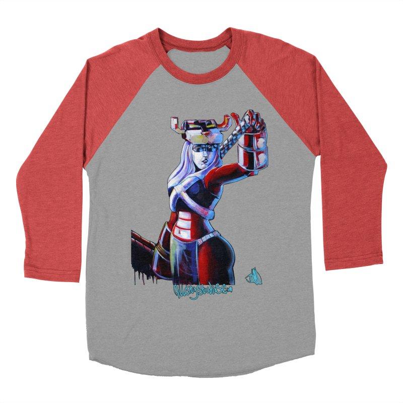 Marauder 1 Women's Baseball Triblend Longsleeve T-Shirt by All City Emporium's Artist Shop