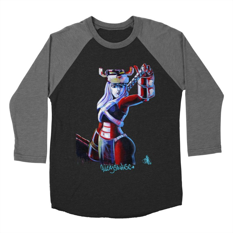 Marauder 1 Men's Baseball Triblend Longsleeve T-Shirt by All City Emporium's Artist Shop