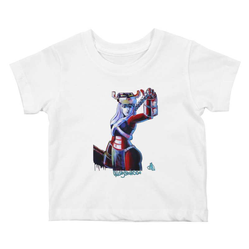 Marauder 1 Kids Baby T-Shirt by All City Emporium's Artist Shop