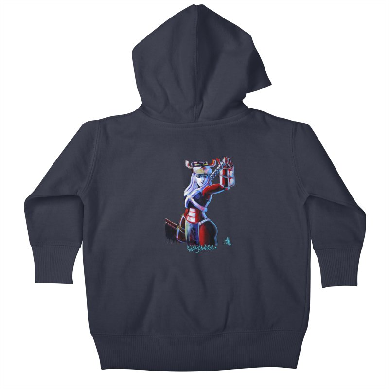 Marauder 1 Kids Baby Zip-Up Hoody by allcityemporium's Artist Shop
