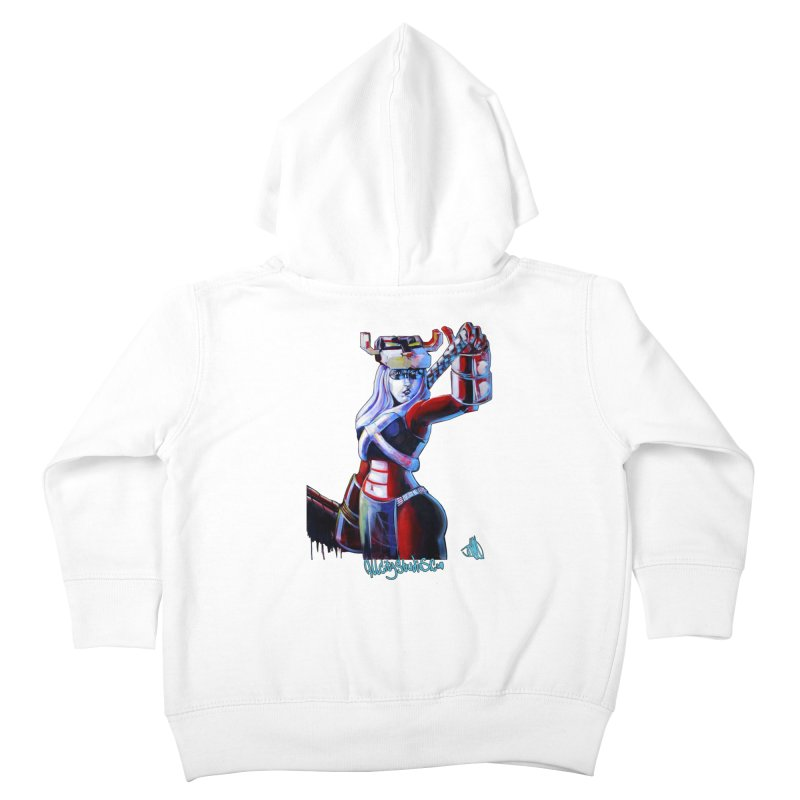 Marauder 1 Kids Toddler Zip-Up Hoody by All City Emporium's Artist Shop